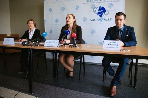 Irmanto Gelūno / 15min nuotr./Migracijos departamento spaudos konferencija po žiniasklaidos publikacijų
