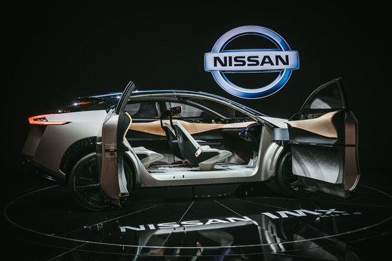 """Irmanto Gelūno / 15min nuotr./""""Nissan"""" į Europą atsivežė koncepcinį visureigį, kuris geba nuspėti, ko nori vairuotojas"""