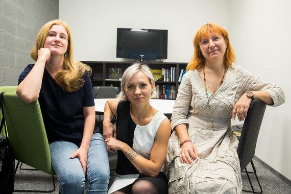 Irmanto Gelūno / 15min nuotr./Skaistė Vasiliauskaitė-Dančenkovienė, Ingrida Pociūtė ir Jurgita Vasiliauskaienė