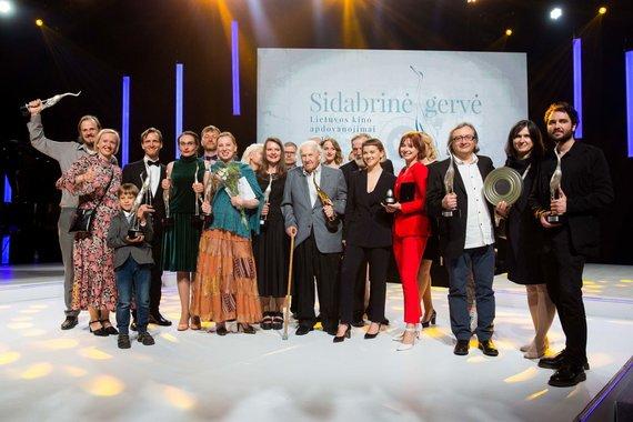 """Irmanto Gelūno / 15min nuotr./""""Sidabrinės gervės"""" 2018 apdovanojimai"""