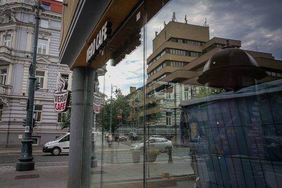 "Irmanto Gelūno / 15min nuotr./""Vero Cafe"" Gedimino prospekte"