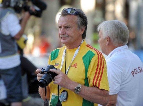 Alfredo Pliadžio nuotr./Sportinio ėjimo treneris Kastytis Pavilonis išrinktas LTPS pirmininku