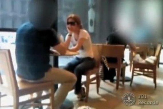 Nuotr. iš FTB vaizdo įrašų/Anna Chapman