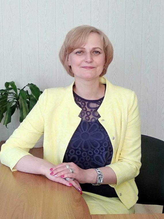 Asmeninio archyvo nuotr./Panevėžio miesto greitosios medicinos pagalbos stoties direktorė Rūta Ramoškienė.