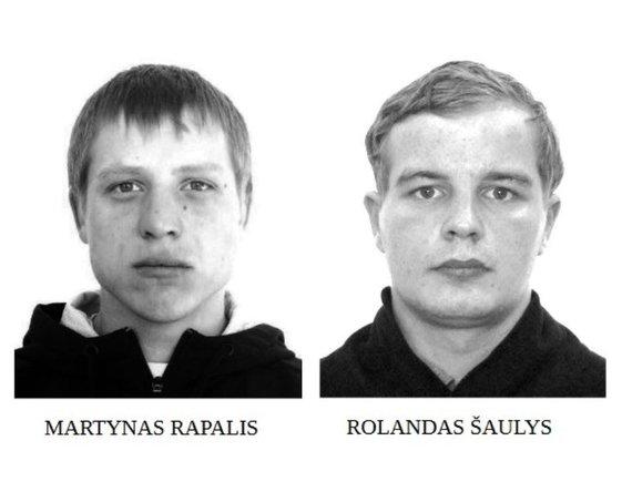 Telšių apskrities VPK nuotr./Martynas Rapalis ir Rolandas Šaulys