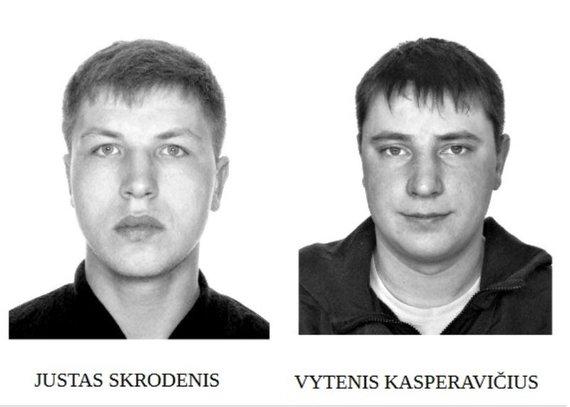 Telšių apskrities VPK nuotr./Justas Skrodenis ir Vytenis Kasperavičius