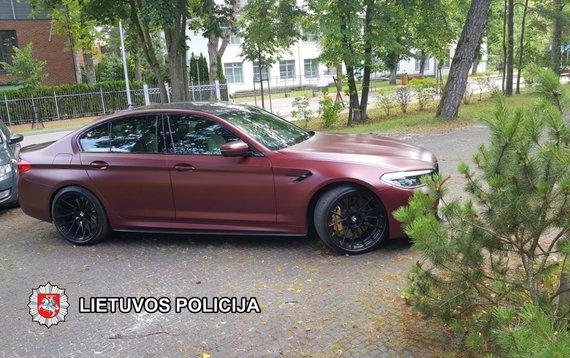 Asmeninio archyvo nuotr./Pavogtasis BMW X5
