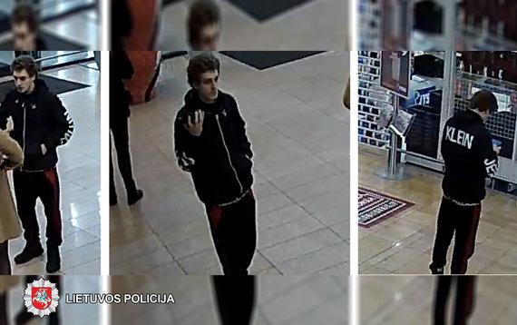 Panevėžio VPK nuotr./Ieškomas įtariamasis