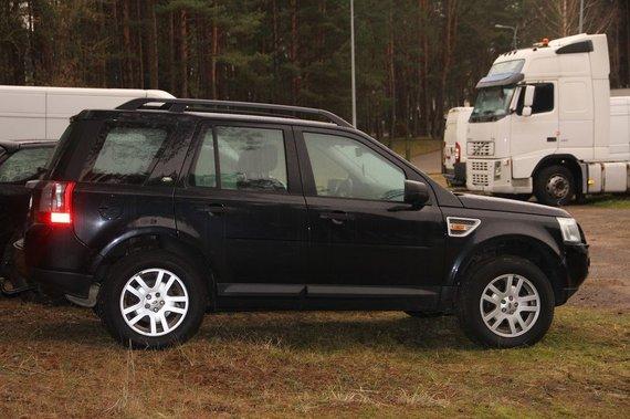 """VSAT nuotr./""""Land Rover Freelander"""""""
