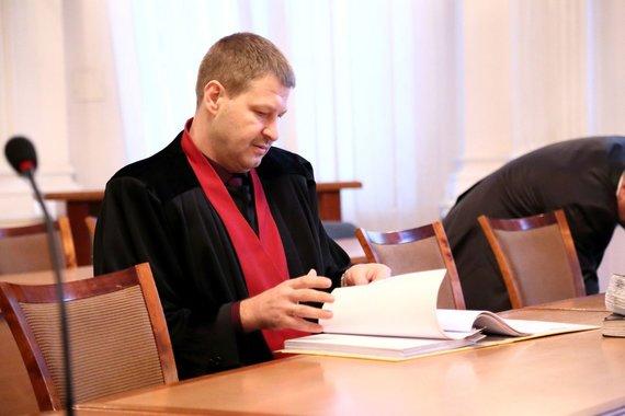 Rūtos Strakšaitės nuotr./Prokuroras Rolandas Stankevičius