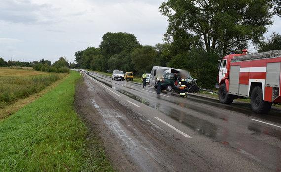 Alytaus apskrities policijos nuotr./Įvykio vietoje