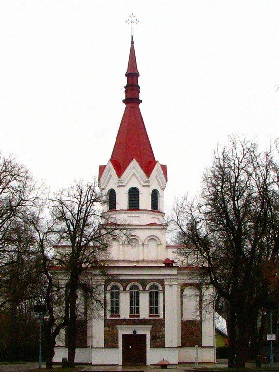 Lt.wikipedia.org nuotr./Panevėžio Švč. Trejybės bažnyčia