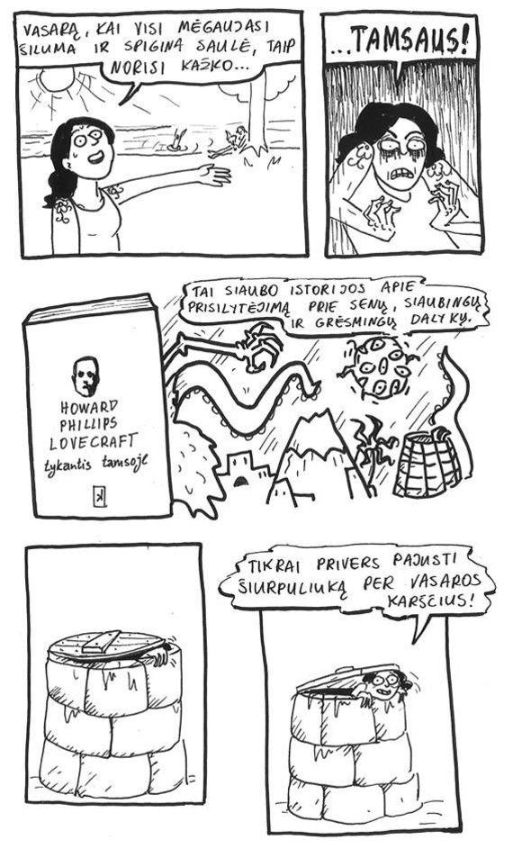 Miglės Anušauskaitės pieš. /Miglės Anušauskaitės vasaros skaitiniai