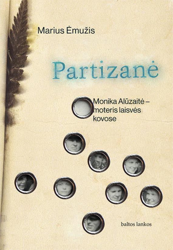 Ėmužis_Partizanė_Knygos viršelis