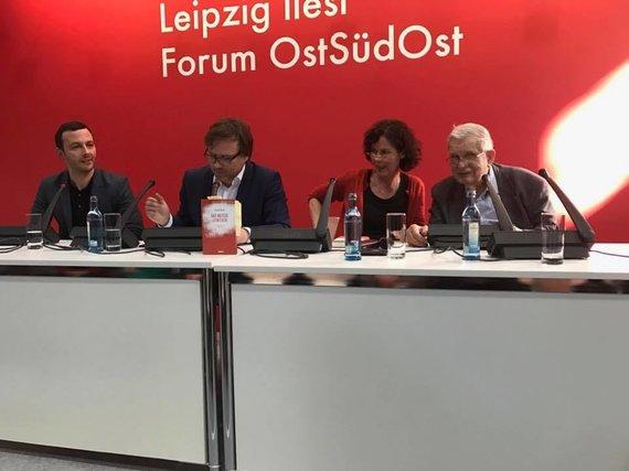 Audriaus Ožalo nuotr./Antano Škėmos kūrybos pristatymas