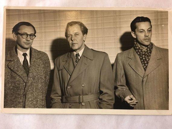Asmeninio archyvo nuotr./Antanas Škėma (dešinėje)