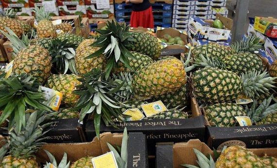 "AFP/""Scanpix"" nuotr./Ananasai"