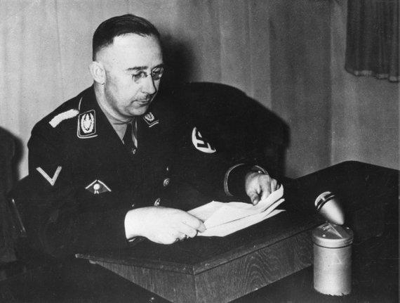 """Scanpix"" nuotr./Heinrichas Himmleris."