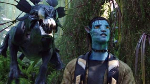 """Kadras iš filmo """"Įsikūnijimas""""/Fantastų suvažiavimo tema – gamtos, mokslo ir fantastikos sąveika: fantastinės rasės, gyvūnai, augalai."""