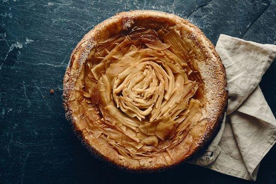 TV3 nuotr./Karamelinis obuolių pyragas