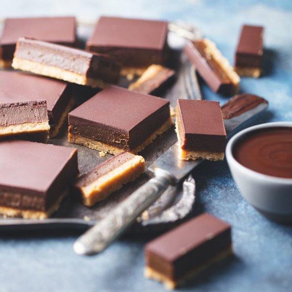 Leidyklos nuotr./Šokoladinis karamelinis pyragas