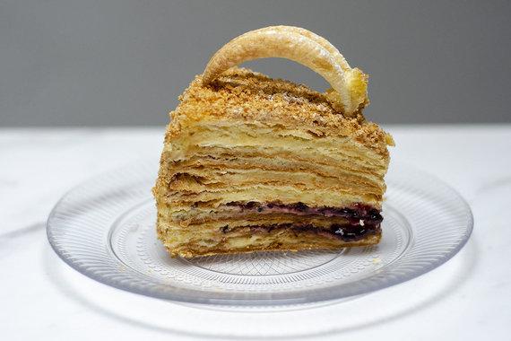 "Strelkabelka nuotr./""Mon Ami"" tortas"