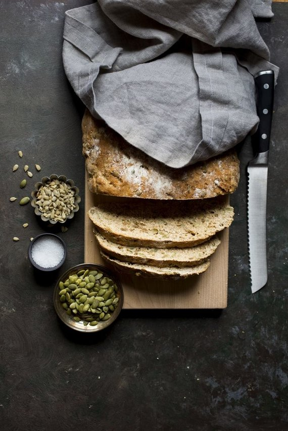 Garuose kepta duona