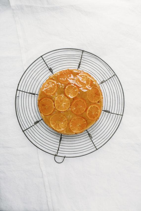 """""""Sarune Zurba Photography"""" nuotr. /Mandarininis pyragas"""