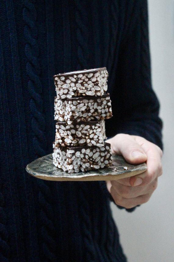 """""""Sarune Zurba Photography"""" nuotr./Šokoladiniai pūstų ryžių kąsneliai"""