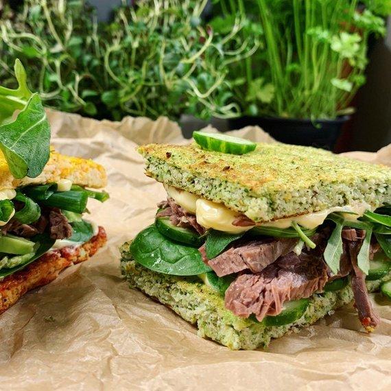 Tinklaraščio archyvo nuotr./Sumuštinis su brokolių duonele