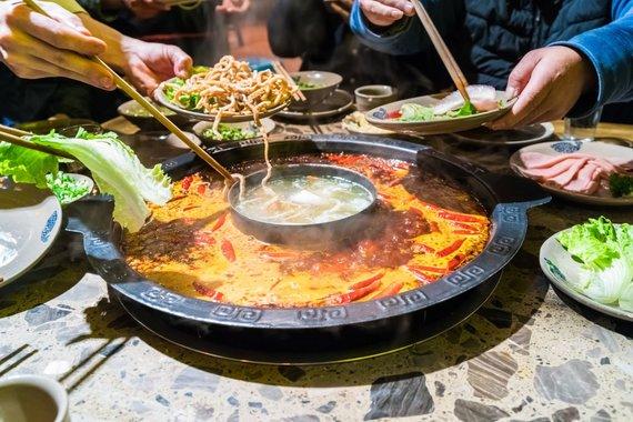 Vida Press nuotr./Szechuan Hot Pot