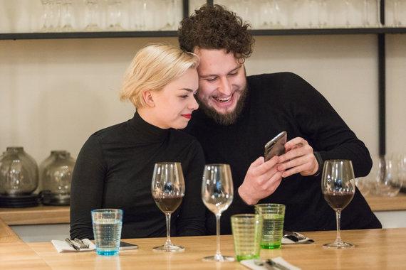 """Manto Gudzinevičiaus nuotr. /""""Vilnius Gastro"""" akimirka"""