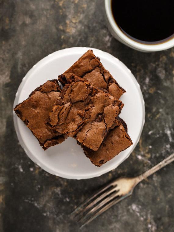 Vida Press nuotr./Šokoladinis pyragas