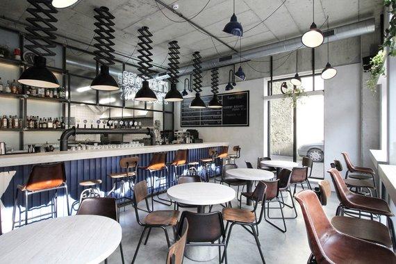 Restorano archyvo nuotr./DOCK interjerą sukūrė interjero dizaineris Ramūnas Manikas