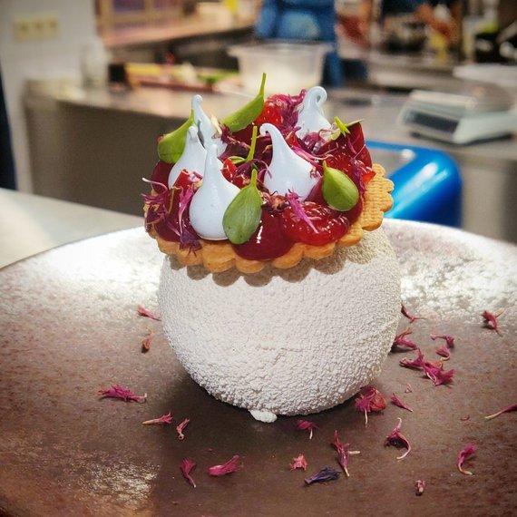 Restorano archyvo nuotr. /Tomo Kasiliausko ruoštas desertas