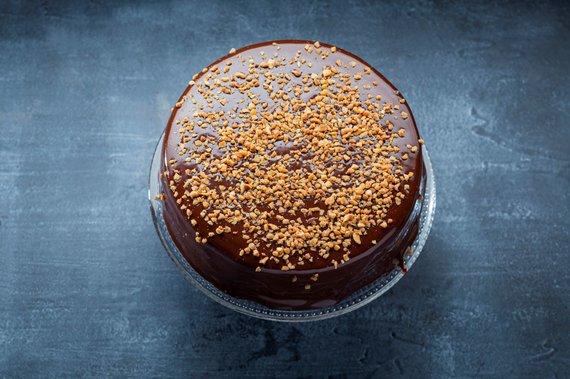 """TV3 nuotr./Austriškas šokoladinis pyragas """"Sacher"""""""