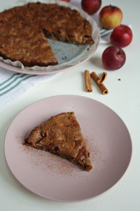 Tinklaraščio archyvo nuotr. /Veganiškas obuolių pyragas