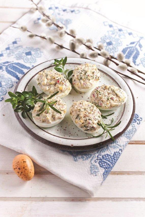 Shutterstock nuotr. /Įdaryti kiaušiniai