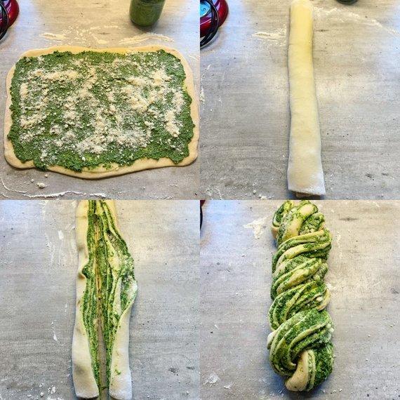 Tinklaraščio archyvo nuotr. /Duonos formavimas