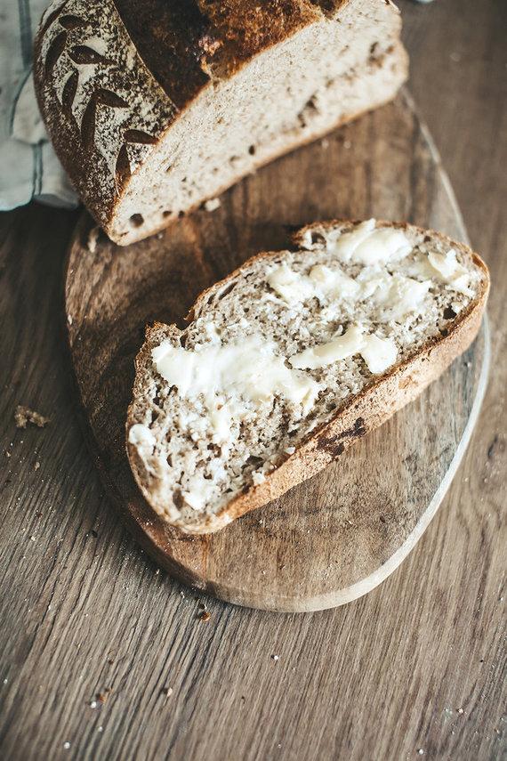Gamintojo nuotr. /Duona su natūraliu raugu