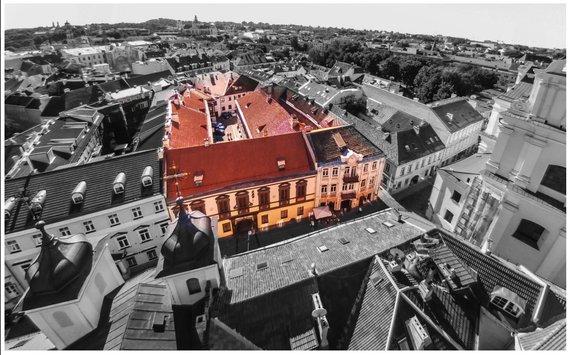 """""""Senatorių pasažo"""" vieta Vilniaus senamiestyje"""