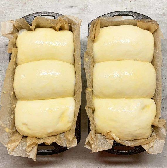 Tinklaraštininkės nuotr. /Pieniška Hokkaido duona