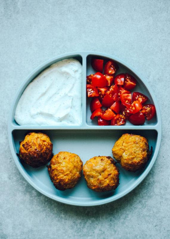 Tinklaraštininkės nuotr. /Saldžiųjų bulvių, morkų ir kalakutienos kepsneliai