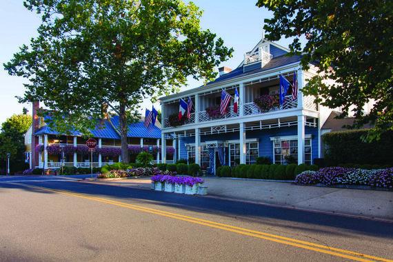 """Restorano archyvo nuotr. /""""Inn at Little Washington"""" eksterjeras"""