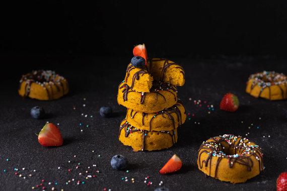 Tinklaraštininkės nuotr. /Veganiškos spurgos su moliūgų tyre