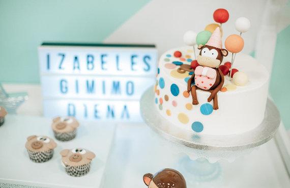 Gretos Vasetaitės nuotr. /Indrės kurtas tortas