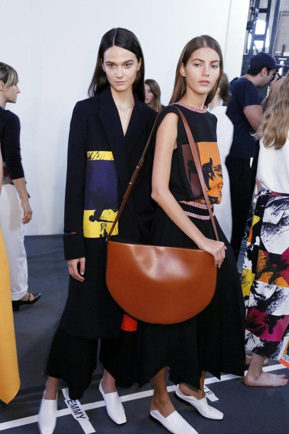 "Vida Press nuotr./""Victoria Beckham"" 2016 m. pavasario-vasaros kolekcijos modelis"