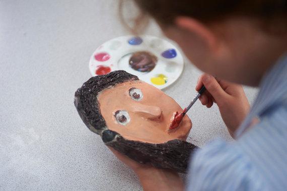 Vida Press nuotr./Piešiantis vaikas