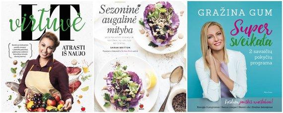 Leidėjų nuotr. /Naujos knygos apie maistą