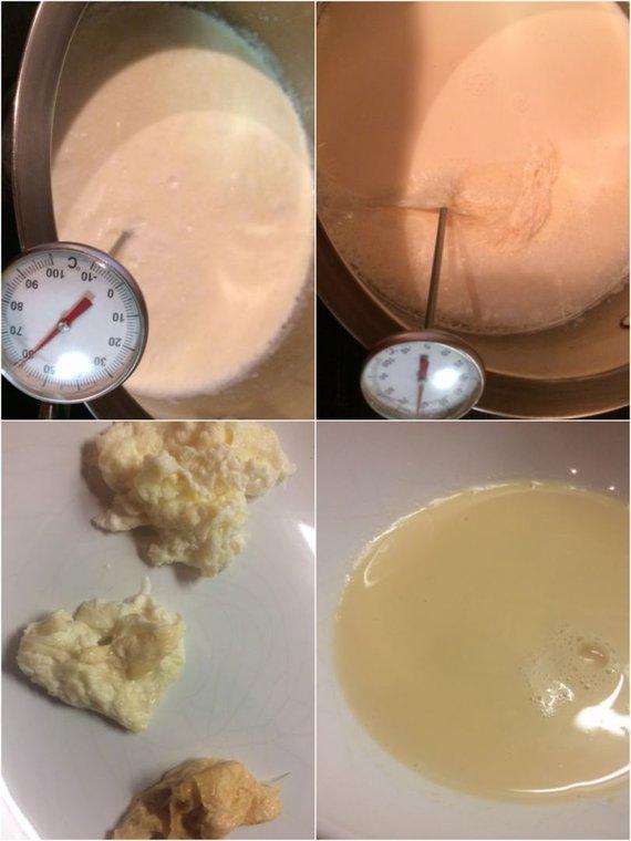 Autorės nuotr. /Sutirštinto pieno gaminimas